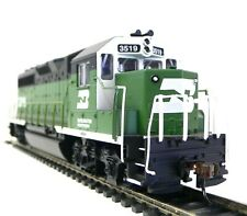 HO Scale Model Railroad Trains Burlington Northern GP-40 DC Locomotive 63503