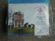 Dept 56 New England Village Springfield Studio Gift Set Nib Brand New!