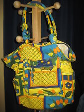 Vibrant Fun 100% Cotton Heavy weight Extra Large Tote made in India