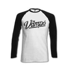 Official The Vamps - Team McVey - Girls Baseball Long Sleeved T-Shirt