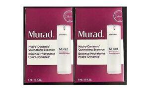 Murad Hydro-Dynamic Quenching Essence, 5 ml / 0.17 fl oz (2 pack )