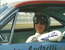 MARIO ANDRETTI REPRINT 8X10 AUTOGRAPHED SIGNED PHOTO PICTURE COLLECTIBLE RP