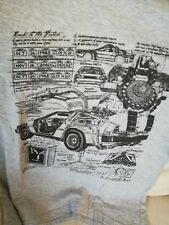 LOOT CRATE Exclusive BACK TO THE FUTURE Grey Official T Shirt Size S Small Geek