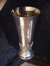 POKAL  800  Silber   -Ralley Monte Carlo  1953-  H  25 cm