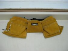 New Husky CLC 527X 12-Pocket Tan Suede Leather Construction Work Apron Tool Belt