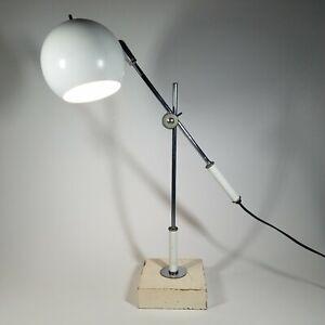 MID CENTURY MODERN RETRO ROBERT SONNEMAN ARTICULATING ORB LAMP