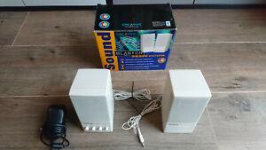Creative SBS20 Monitor Lautsprecher Speaker | Kult | Retro | Top Zustand | OVP