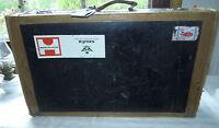 Vintage, historischer Ledertuchkoffer ca.70x42x20 cm prädestiniert für Oldtimer