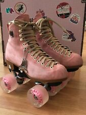 Moxi Lolly roller skates - size 6 - strawberry with accessories