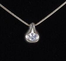 Markenlose ovale Modeschmuck-Halsketten & -Anhänger aus Strass