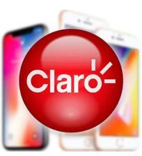 CLARO iPhone 6s/ 6s+/ 7/ 7+/ 8/ 8+/ X/ Xs/ Xs Max/ 11/ 11 Pro/ 11 ProMAX UNLOCK