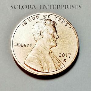 2017 S LINCOLN SHIELD  *ENHANCED PROOF*  CENT / PENNY  **FREE SHIPPING**