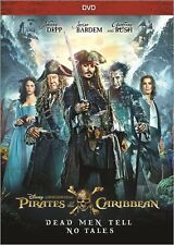 Pirates of the Caribbean: Dead Men Tell No Tales (DVD 2017) NEW*