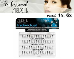 Ardell Duralash Naturals Medium Black Lashes Eyelashes Salon Look Cosmetics