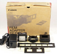 Canon Film Adapter FP-100. Transfer or Show Films & Slides on Video, TV or PC.