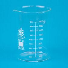 Low Form Glass Beaker 2000ml 1 Ea