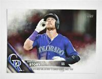 2016 Topps Update #US114 Trevor Story HL - NM-MT