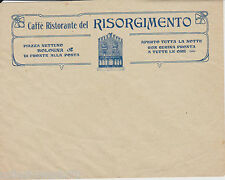 BOLOGNA CAFFE' DEL RISOGIMENTO -BUSTA PUBBLICITARIA  INTESTATA CON LOGO