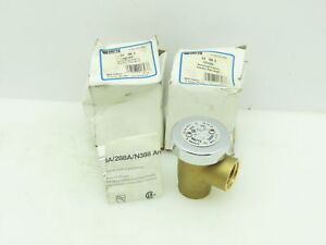 "Watts Regulator 59-49-SA Anti-Siphon Vacuum Breaker 3/4""NPT Brass Body LOT OF 2"