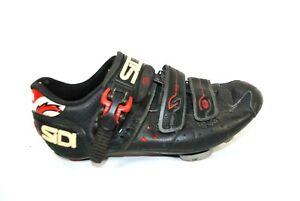 SIDI Bike Cycling Shoes Size 39 Black