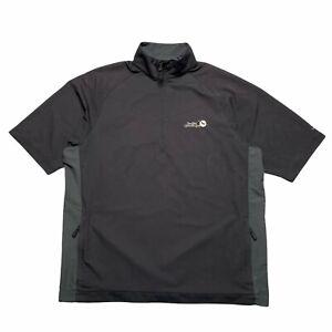 Nike Golf Sea Cliff Country Club Short Sleeve Half Zip Pullover Mens Medium