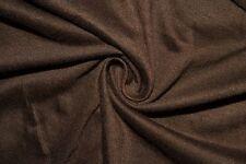 Brown Jersey Knit #56 Rayon Spandex Lycra Stretch Apparel Fabric BTY