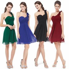 Ever-Pretty One Shoulder Above Knee, Mini Dresses