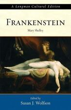FRANKENSTEIN: A LONGMAN CULTURAL EDITION By Susan J. Wolfson Used Condition