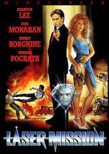 Laser Mission (1989) DVD SPECIAL WIDESCREEN EDITION Brandon Lee Ernest Borgnine