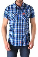 Superdry Regular Button Down Check Men's Casual Shirts & Tops