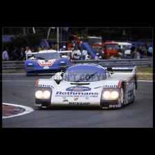 Photo A.012907 PORSCHE 962 C STUCK-BELL-HOLBERT 24 HEURES LE MANS 1986