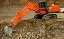 "HITACHI EX1200 MINING EXCAVATOR TRACK HOE LARGE WALL POSTER 39""x 24"" POSTER"