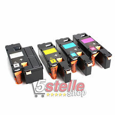 MULTIPACK 4 TONER PER XEROX PHASER 6020 6022 106R0275 CARTUCCE REMAN