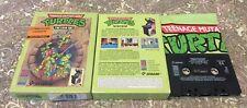 TURTLES THE COIN OP per COMMODORE 64 - RARISSIMO! STORICO! VERSIONE BIG BOX UK