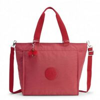 BORSA A SPALLA E TRACOLLA KIPLING NEW SHOPPER L K16659 SPICY RED T69