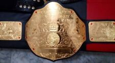 WWF WCW BIG GOLD WORLD HEAVYWEIGHT CHAMPIONSHIP ADULT BELT REPLICA