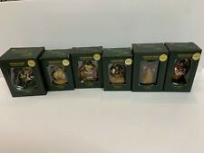Longaberger Limited Edition Boyd's Bears & Friends Ornaments Lot of 6