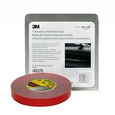 3M 06378 Automotive 30 mil Gray Acrylic Foam Attachment Tape (7/8 in. X 20 yd.)