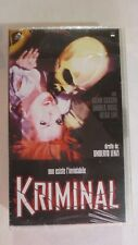 KRIMINAL - Non esiste l'inviolabile - VHS - no dvd - NUOVO SIGILLATO [vh01]