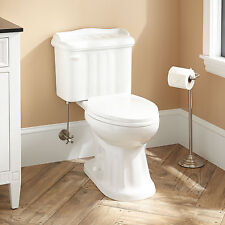 Signature Hardware Madden Two Piece Elongated Siphonic Toilet