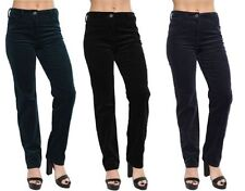 Unbranded Straight Leg Cotton Trousers for Women
