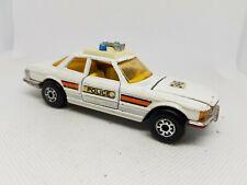 Matchbox Superkings Mercedes Benz 350 SLC Police Car 1974