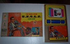 """COMPLETE """"MAN FROM U.N.C.L.E. CARD GAME.""""  BOX IS TIGHT.  NO SPLITS OR TEARS."""