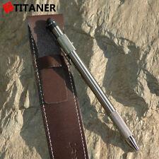 TITANER Titanium TC4 Tungsten Tactical Ti Touch Screen Pen PILOT Refill