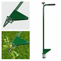Steel Weed Puller Claw Lawn Weeder Root Remover Killer Grabber Long Handled Tool