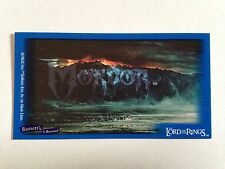 Lord Of The Rings - Bassett / Barratt Trading Cards - Mordor - Cigarette Cards