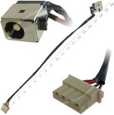 Asus N56vm N56vj N56vz n56dp Dc Power Jack Port Socket con cable de alambre arnés