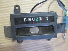TOYOTA SUPRA 86-88 1986-1988 CONSOLE SHIFT  prndl INDICATOR PANEL w/ LIGHT