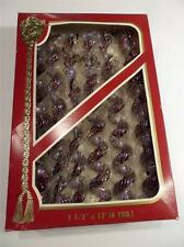 Vintage Victoria Collection Looped Garland by Rauch, Usa, In Original Box, 12 ft