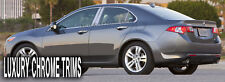 Acura TSX Stainless Steel Chrome Pillar Posts by Luxury Trims 2009-2015 (6pcs)